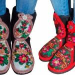 Boots of Pavlovsky Posad Shawls