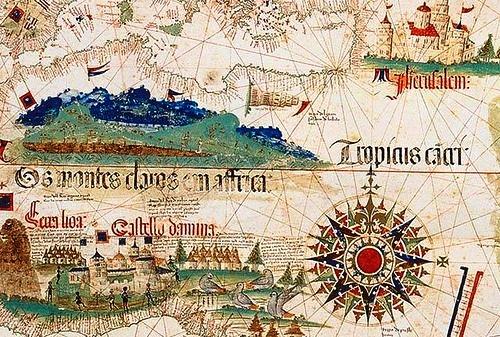 antique and bizarre maps
