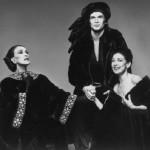 Martha Graham, Rudolph Nureyev and Margot Fonteyn, 1976