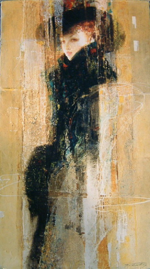 Sofia. Interpretation of classics by Ukrainian artist Alexander Pavlovets