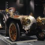 The Mercedes Simplex was designed by Wilhelm Maybach in Stuttgart, Germany. It featured powerful engines whose power ranged from 40 to 60 hp (photo Michael Lin)