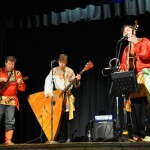 The Russian music band 'Flying Balalaika Brothers' represents Russian folk music, crossover to bluegrass and many other international acoustic styles