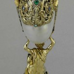 This nautilus cup (one of two in the Royal Collection) was purchased by George IV from Rundell Bridge & Rundell in December 1826
