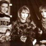 And the next year, already in 1990. Three close female friends, Russia