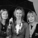 Under one umbrella, Three close female friends, 2010
