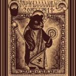 Touring Poster Russian balalaika Tour de Balalaika