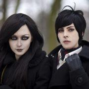 Twilight. Alex Chernov (right) Photographer Alexand Fyodorovsky