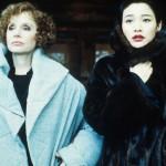 Piper Lauriea (Catherine Martell) and Li Chun Fung (Josie Packard). Twin peaks