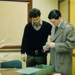 Dale Cooper investigating the murder