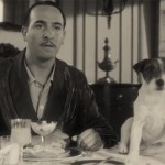 Scene from the movie, Uggie