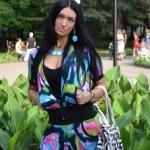 Looking beautiful and young, Vlada Evstifeeva