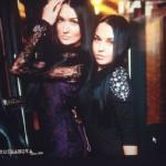 Two beauties – Vlada Evstifeeva and her daughter Anastacia