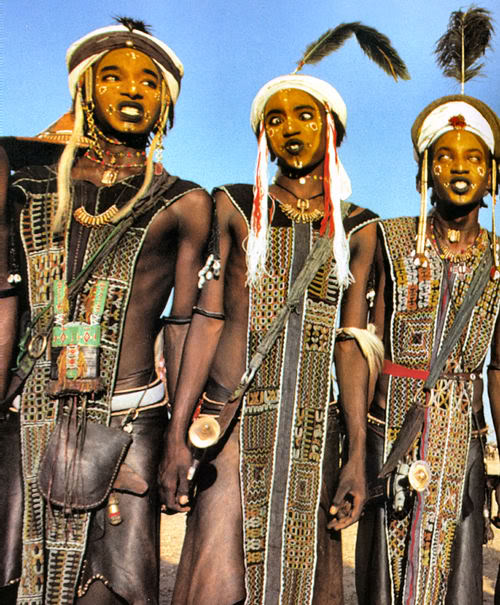 Beauty cult of Wodaabe men