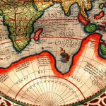 a map of 1587