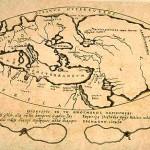 a map of Poseidon, about 150-130 BC
