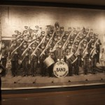School band, general view of hyperrealistic pencil drawing by American artist Chris LaPorte