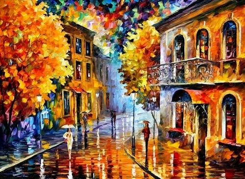 Autumn by Leonid Afremov
