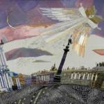 The city angel. St. Petersburg in Unique art by Marina Printseva