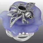 bracelet, diamonds, brilliant, sapphire, pearl, quartz, gold 585