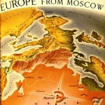 """Map """"hand of Moscow"""""""