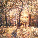 Lonely rustling. Esoteric mysticism in painting by St. Petersburg based artist Sergey Puzanov