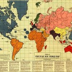 The bizarre post-war map of the world (for a new global order)