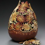 Incredible work of art – pumpkin carving by American artist Marilyn Sunderland