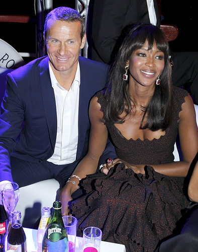 Vladislav Doronin and Naomi Campbell