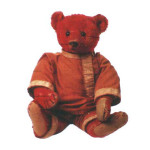 Favorite toy bear of princess Xenia, Alfonzo