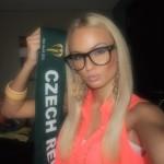 Wearing glasses, Teresa Fajksova
