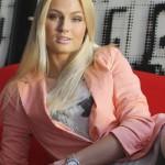 Fashion model Teresa Fajksova