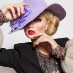 Fur fashion. Teresa Fajksova