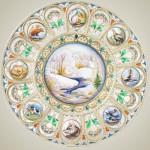Decorative plate. Rostov finift