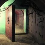 Massive door of the Bunker