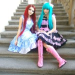 The meeting of VenusAngelic from Sweden and Nastya Spagina from Ukraine.
