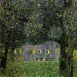 Farmhouse with Birch Trees - Gustav Klimt, 1903