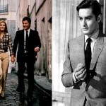 Dalida and her close friend Alain Delon
