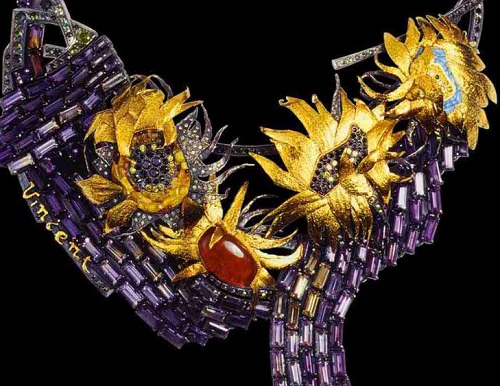 "Necklace ""Wreath Of Vincent"""