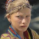 Mysterious white-skinned, blue-eyed Kalash people in Pakistan