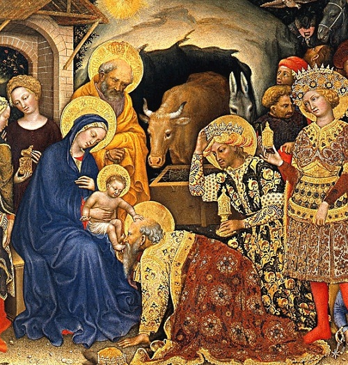 Image result for gentile da fabriano adoration of the magi