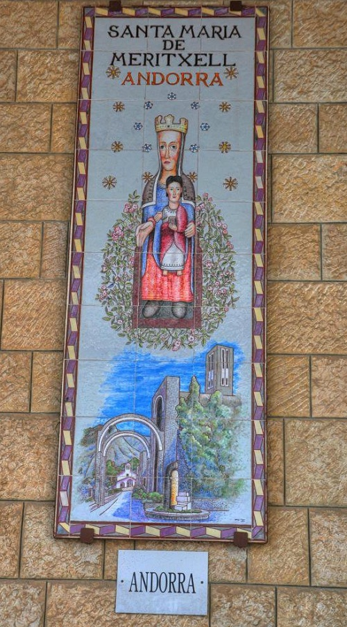 Andorra. Church of the Annunciation
