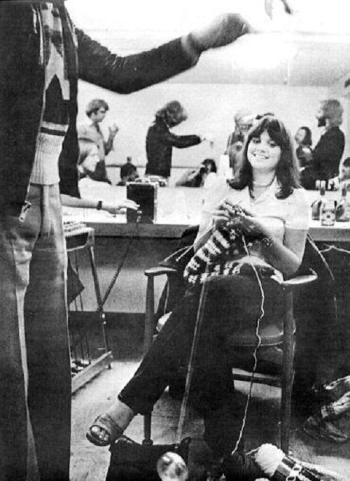 Annie Leibovitz in 1975
