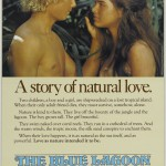 Poster. A story of natural love. Blue Lagoon