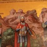 Saint warriors, painting