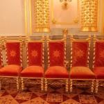 Alexandrovsky (St. Alexander) Hall, detail of interior