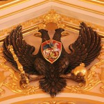 The double-headed eagle and St. George – symbols of the Russian state