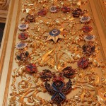 Gilded doors and carving