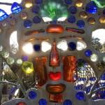 Resembling face Bottle chapel