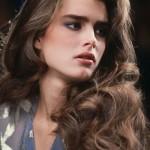 1980s photo of Brooke Shields