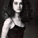 Young actress Brooke Shields